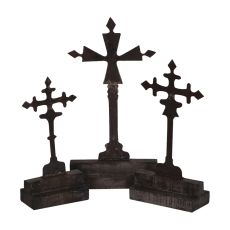 Ornate Crosses, Grey