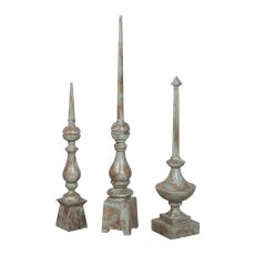 Olde World Finials, Green