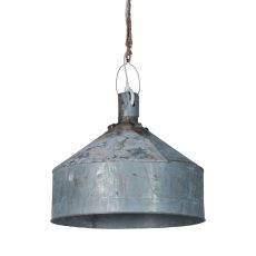 Large Funnel Light, Gray