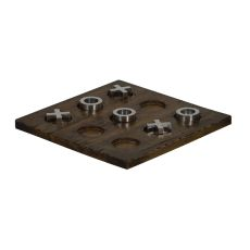 Tic-Tac-Toe Game Board, Brown
