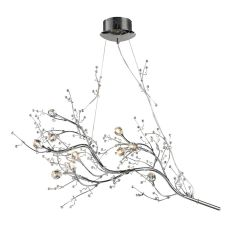 Viviana 10 Light Chandelier In Polished Chrome