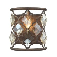 Armand 1 Light Sconce In Weathered Bronze