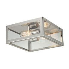 Parameters 2 Light Wall Sconce In Polished Nickel