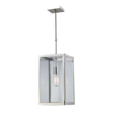 Parameters 1 Light Pendant In Polished Nickel