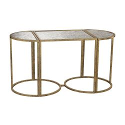 Versailles Gold Accent Table