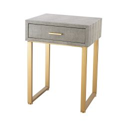 Beaufort Point Accent Side Table With Drawer