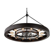 Chronology 12 Light Chandelier In Oil Rubbed Bronze