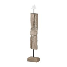 Acueducto Candle Holder, Driftwood