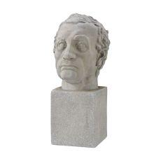 Consularis Table Sculpture, Aged Stone