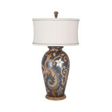 Terra Cotta Table Lamp I In Artisan Stain