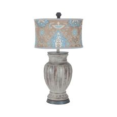 Parma Lamp, Concrete, Heritage Grey Stain