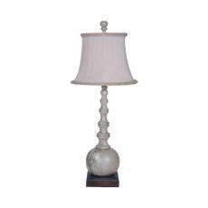 Marrakesh Spindle Lamp In Vintage Gris