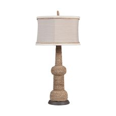 Rope Lamp, Woodtone, Heritage Grey Stain