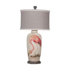 Terra Cotta Lamp Viii, Original Art, Loft White