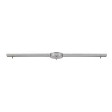 Illuminare Accessories 3 Light Linear Bar In Satin Nickel