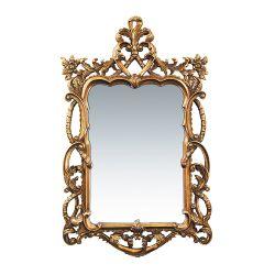Floral Scroll Mirror