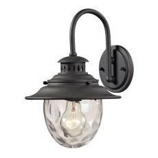 Searsport 1 Light Outdoor Sconce In Weathered Charcoal