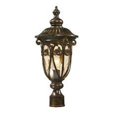 Logansport 1 Light Outdoor Post Lamp In Hazelnut Bronze