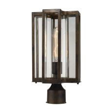 Bianca 1 Light Outdoor Post Lantern In Hazelnut Bronze