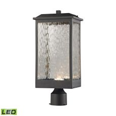 Newcastle Outdoor Led Post Mount In Matte Black