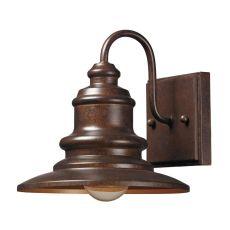 Marina 1 Light Outdoor Sconce In Hazelnut Bronze