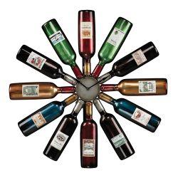 Wine Bottle Clock