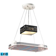 Novelty 2 Light Led Hockey Pendant