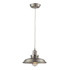Newberry 1 Light Mini Pendant In Satin Nickel