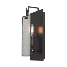 Lindhurst 1 Light Wall Sconce In Oil Rubbed Bronze