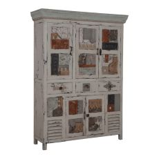 Artifacts Collage Cabinet, Cream