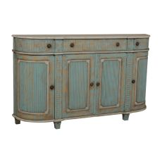 Italian Demilune Chest, Green
