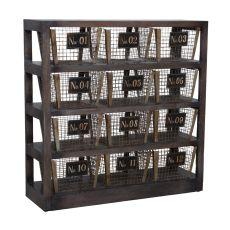 Basket Shelves, Gray