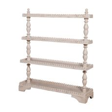 Three Tier Shelf, Cream