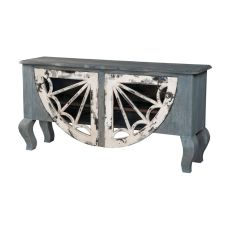 Artifacts Italian Sideboard, Vintage Bouleu Blanc, Weathered Grey