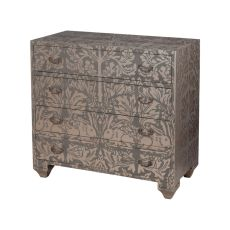 Parma Chest, Champagne Gold, Original Art