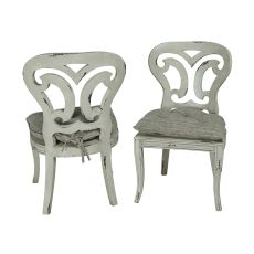 Artifacts Side Chair, White