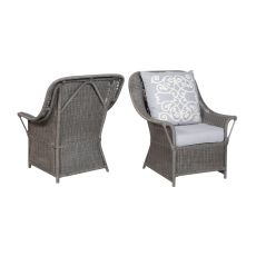 Retreat Rattan Chairs - Set Of 2, Gray