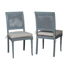 Savona Side Chair, Blue