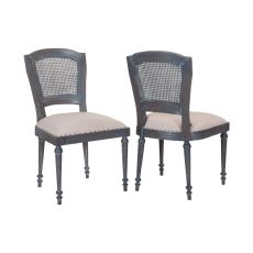 Chelsea Side Chairs - Set Of 2, Antique Smoke