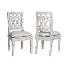 Swedish Ring Chairs - Set Of 2, Vintage Gris