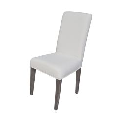 Couture Covers Parsons Chair Cover - Pure White