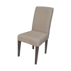 Couture Covers Parsons Chair Cover - Light Brown