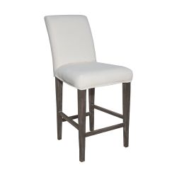 Couture Covers Parsons Barstool Cover - Pure White