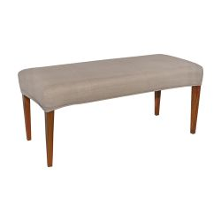 Couture Covers Double Bench Cover - Light Brown