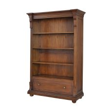 St. Joseph Open Double Cabinet In Woodlands Stain