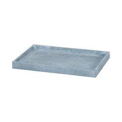 Faux Concrete Bath Tray