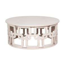 Newport Cocktail Table, White