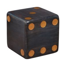Dice Accent Table/Stool, Gray