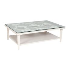 Manse Cocktail Table, White