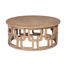 Newport Cocktail Table, Blonde